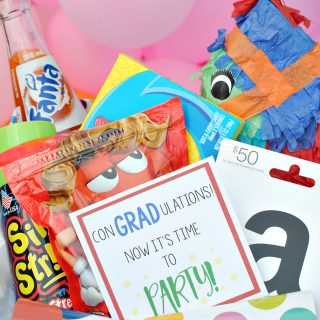 Graduation Gift Basket: Grad Party in a Box
