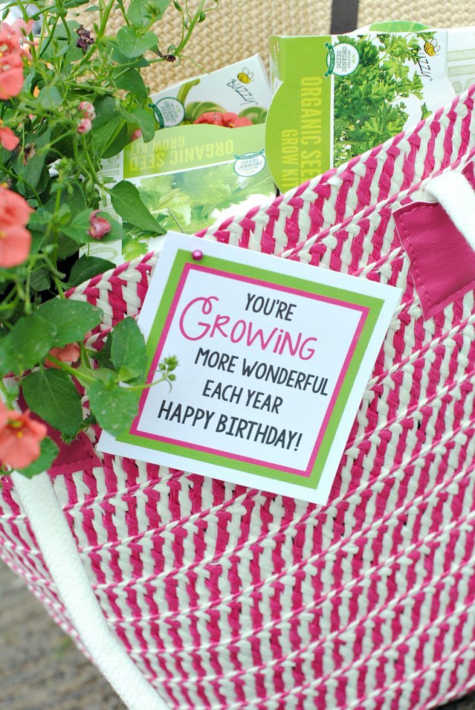 Gardening Birthday Gift Idea