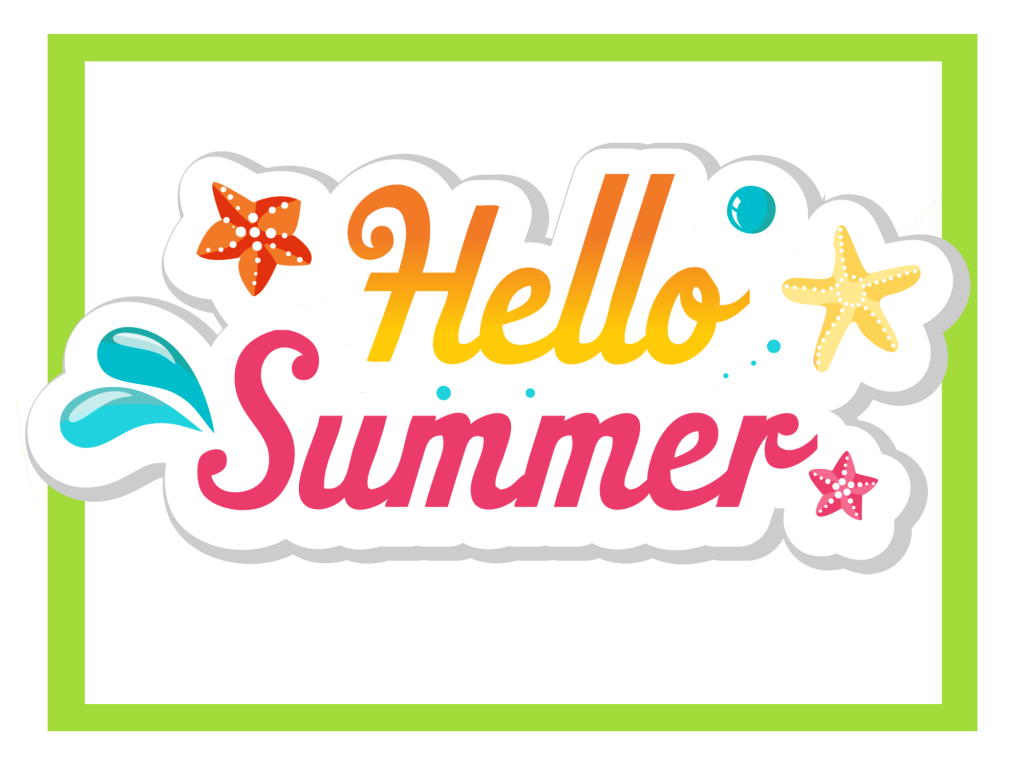 Hello Summer Party Sign
