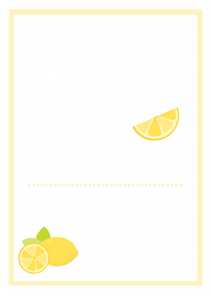 Lemonblankinvite