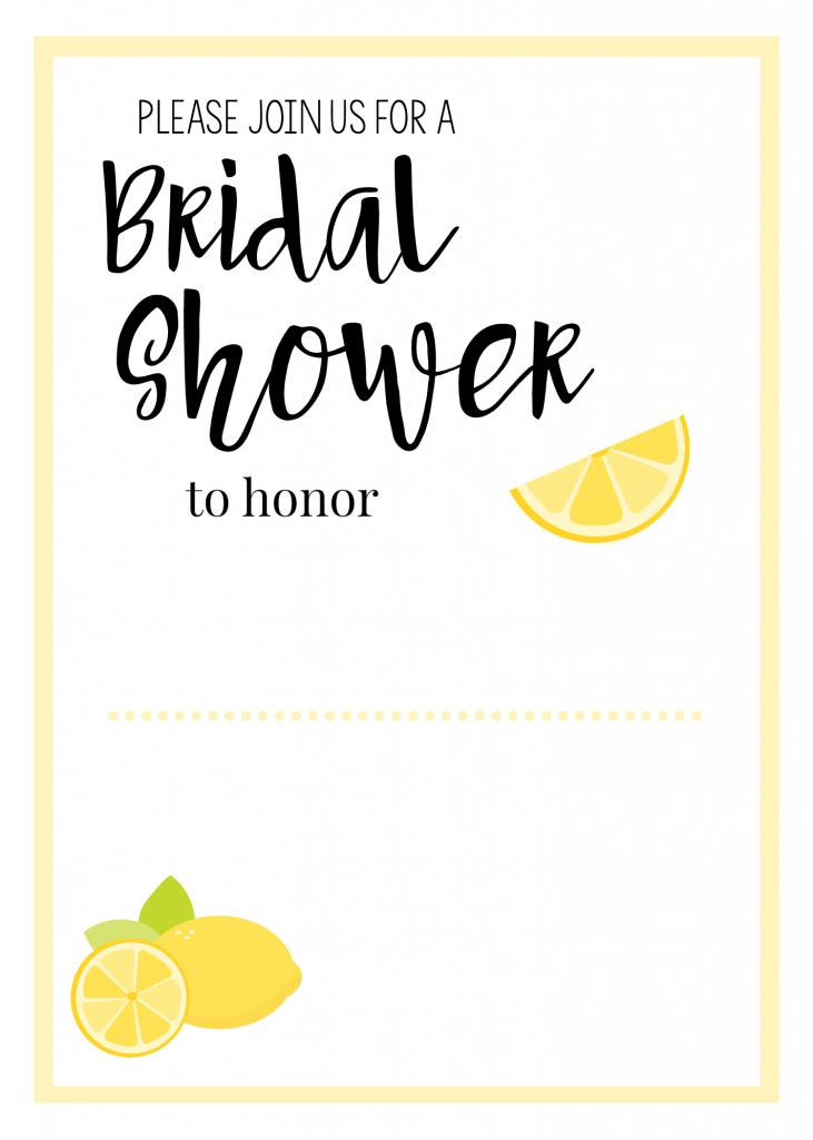 Lemonbridalshowerblank