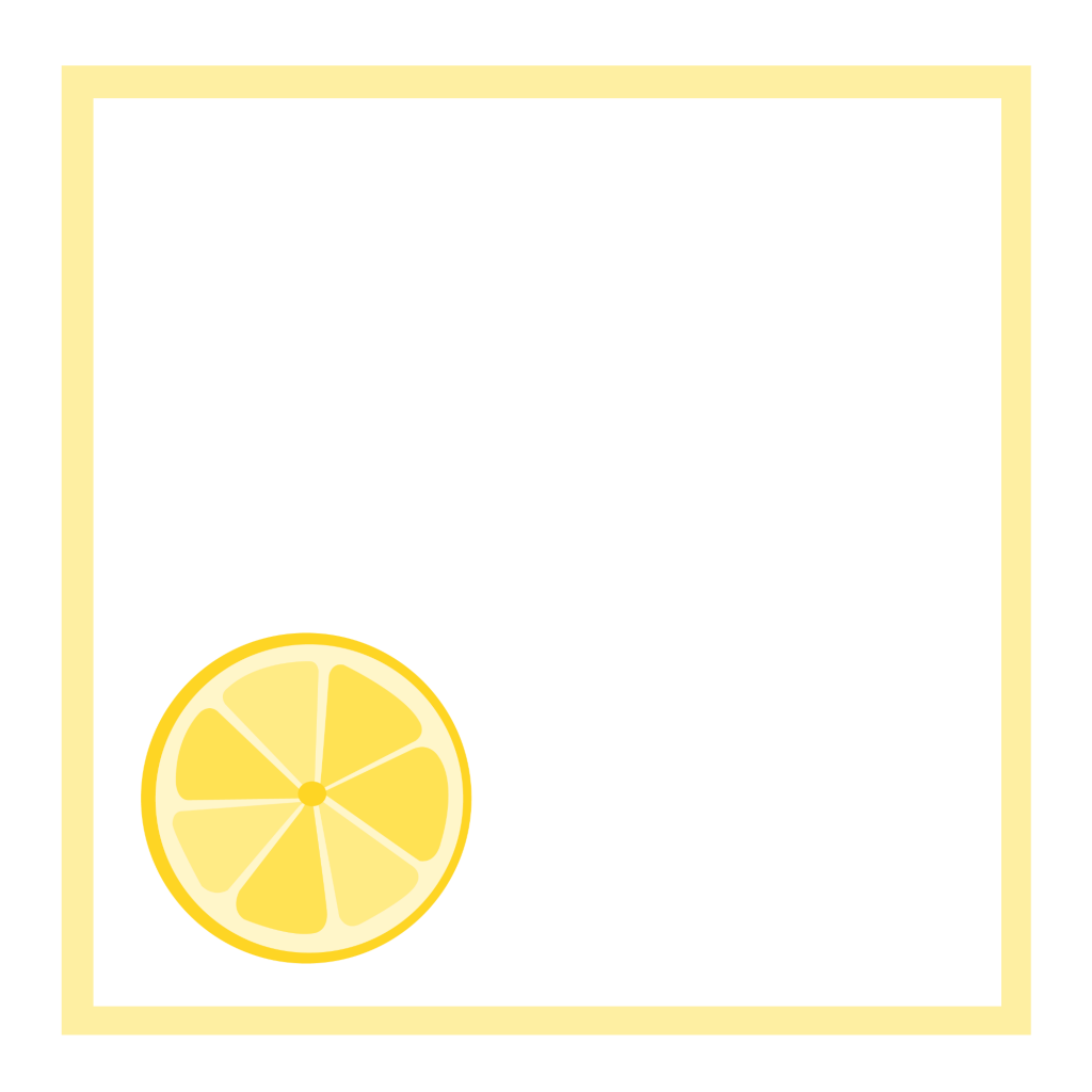 Lemonsquaretagblankfulllemon