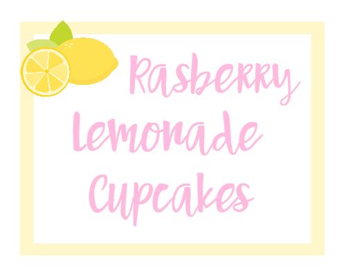 RasberryLemonadeCupcakesSign