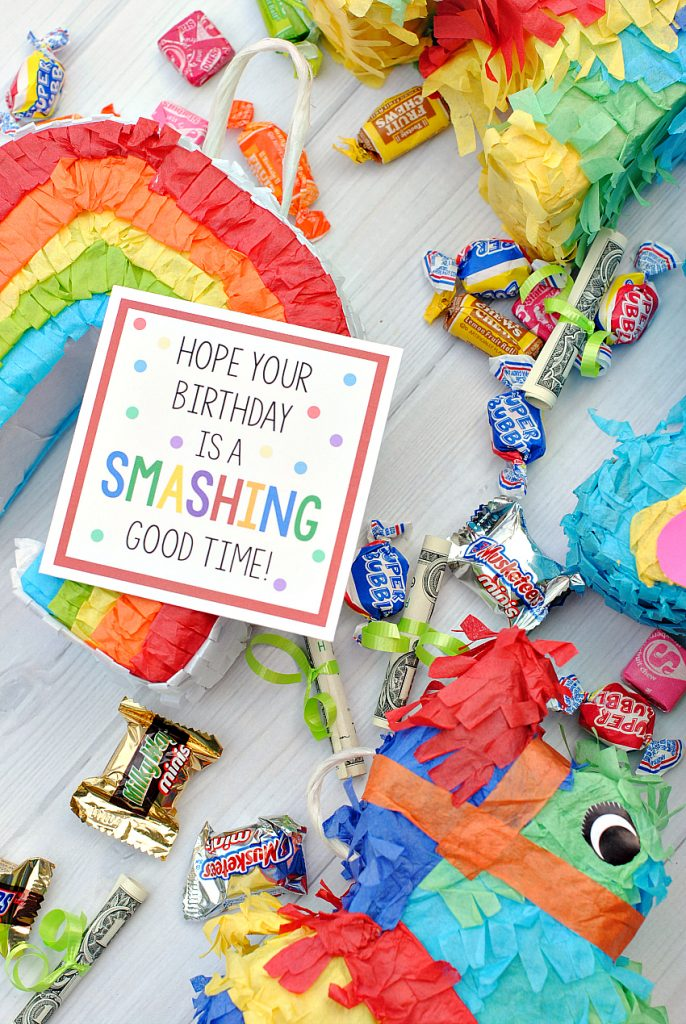 Cute Mini Pinata Birthday Gift Idea For Friends