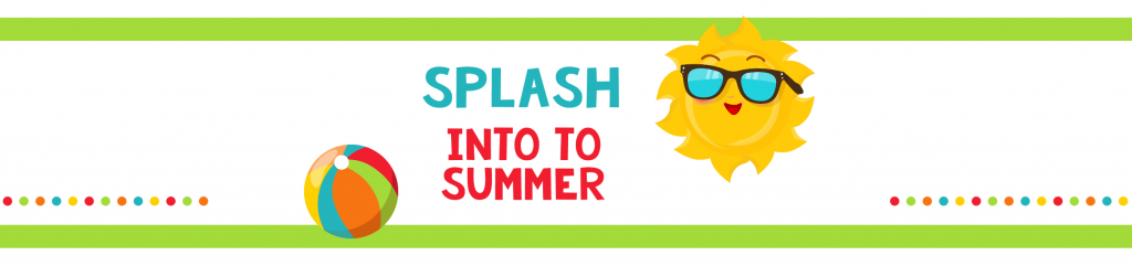 Splash Into Summer Water Bottle Labels