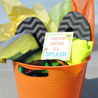 """Splash"" Summer Birthday Gift Idea"