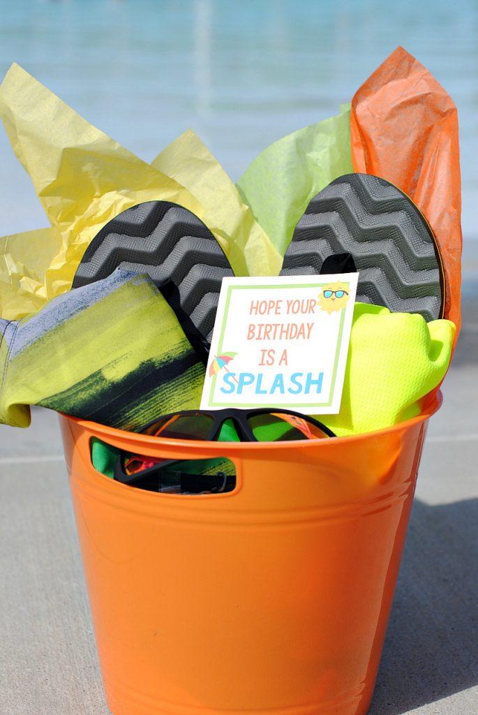 Splashing Good Birthday Idea