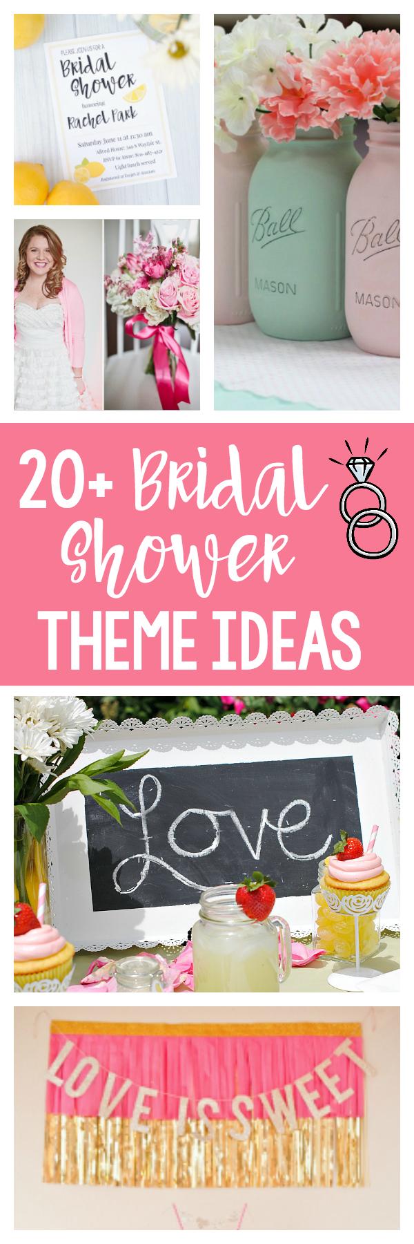 Bridal Shower Theme Ideas