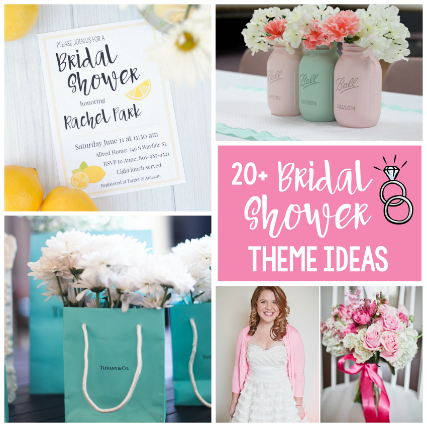 cute and creative bridal shower themes ideas