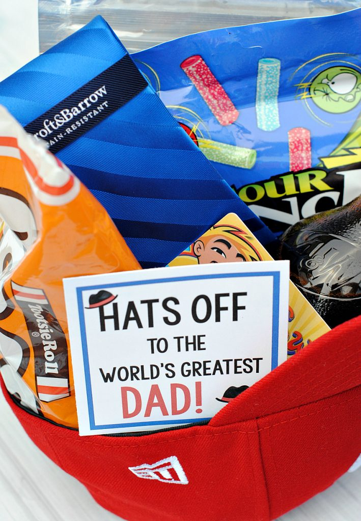 Creative Father's Day Gift Idea-Hats Off