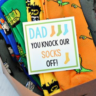 Knock Your Socks Off Gift Idea