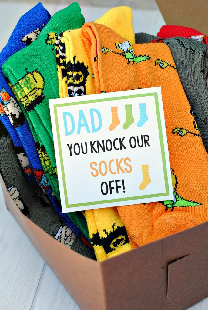 Father's Day Gift Idea-Knock Our Socks Off