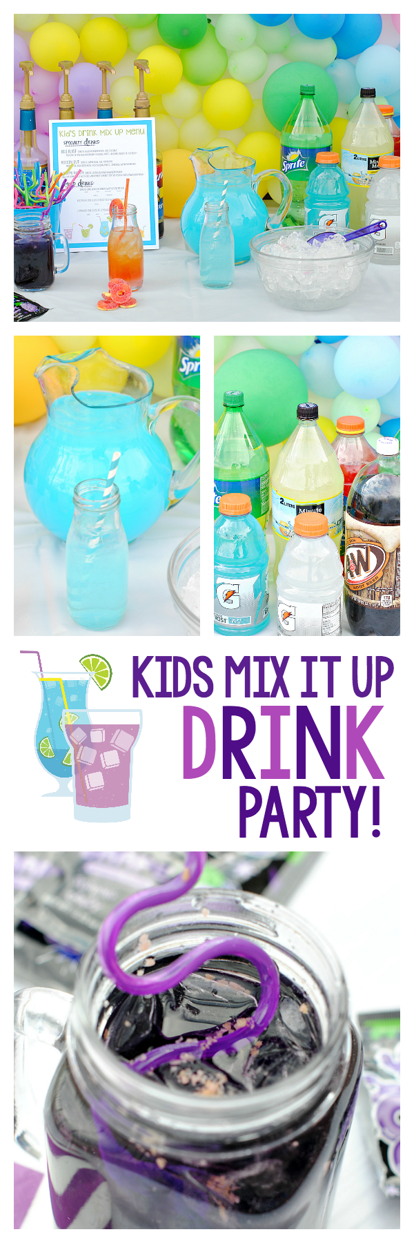 Fun Kid's Drink Party Ideas
