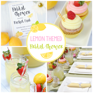 Lemon Themed Summer Bridal Shower