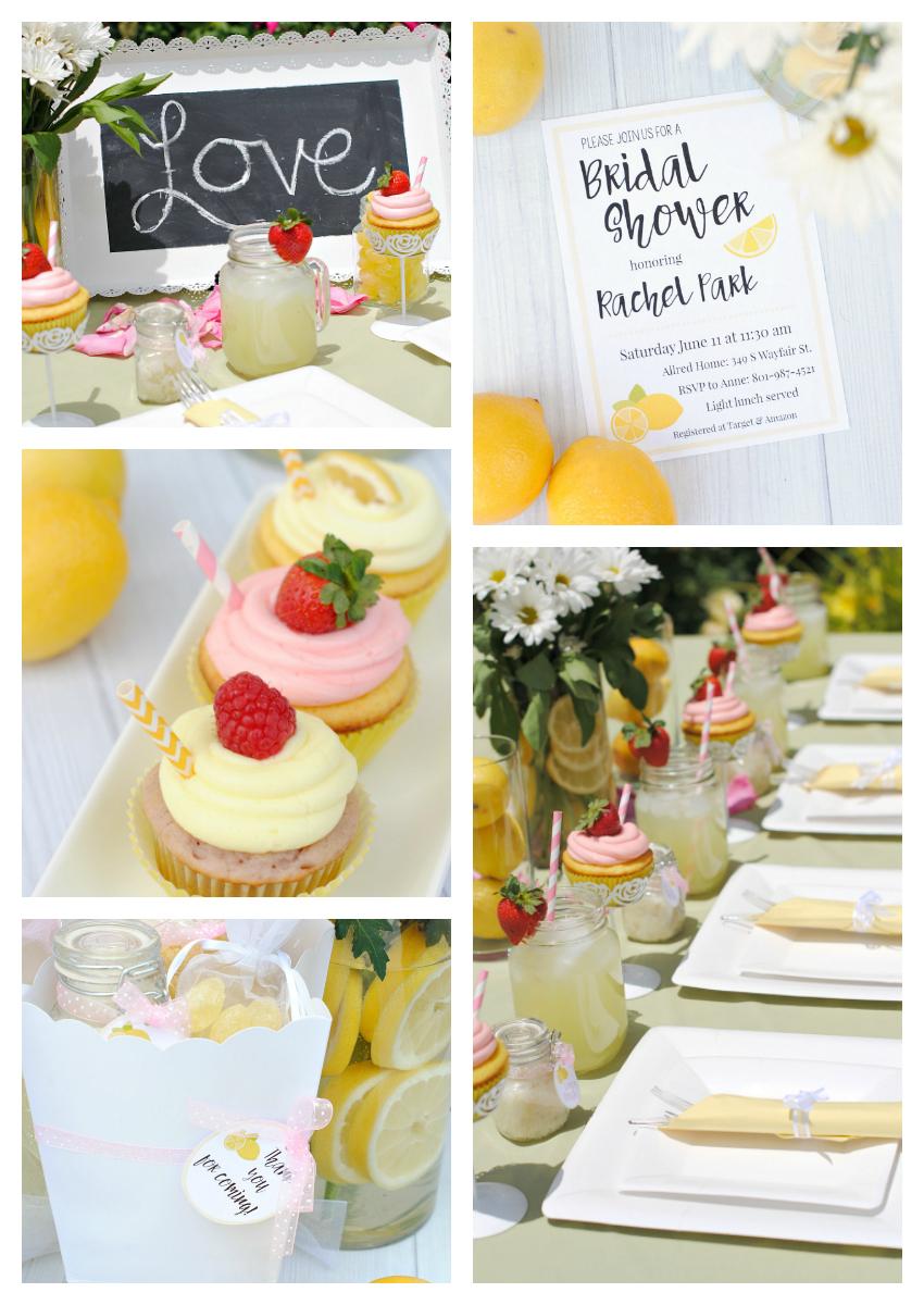 Lemon Bridal Shower Theme
