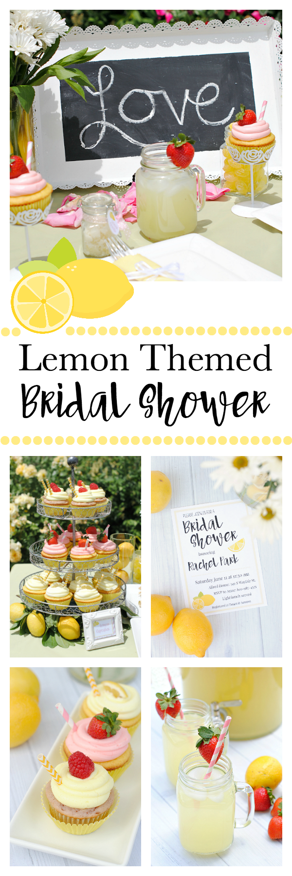 Lemon Themed Bridal Shower Ideas
