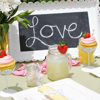 Lemon Bridal Shower Ideas