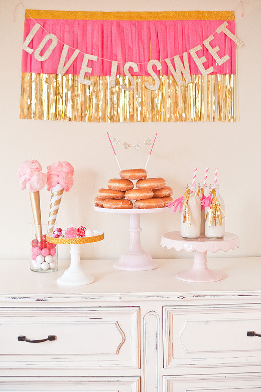 Love is sweet wedding shower ideas