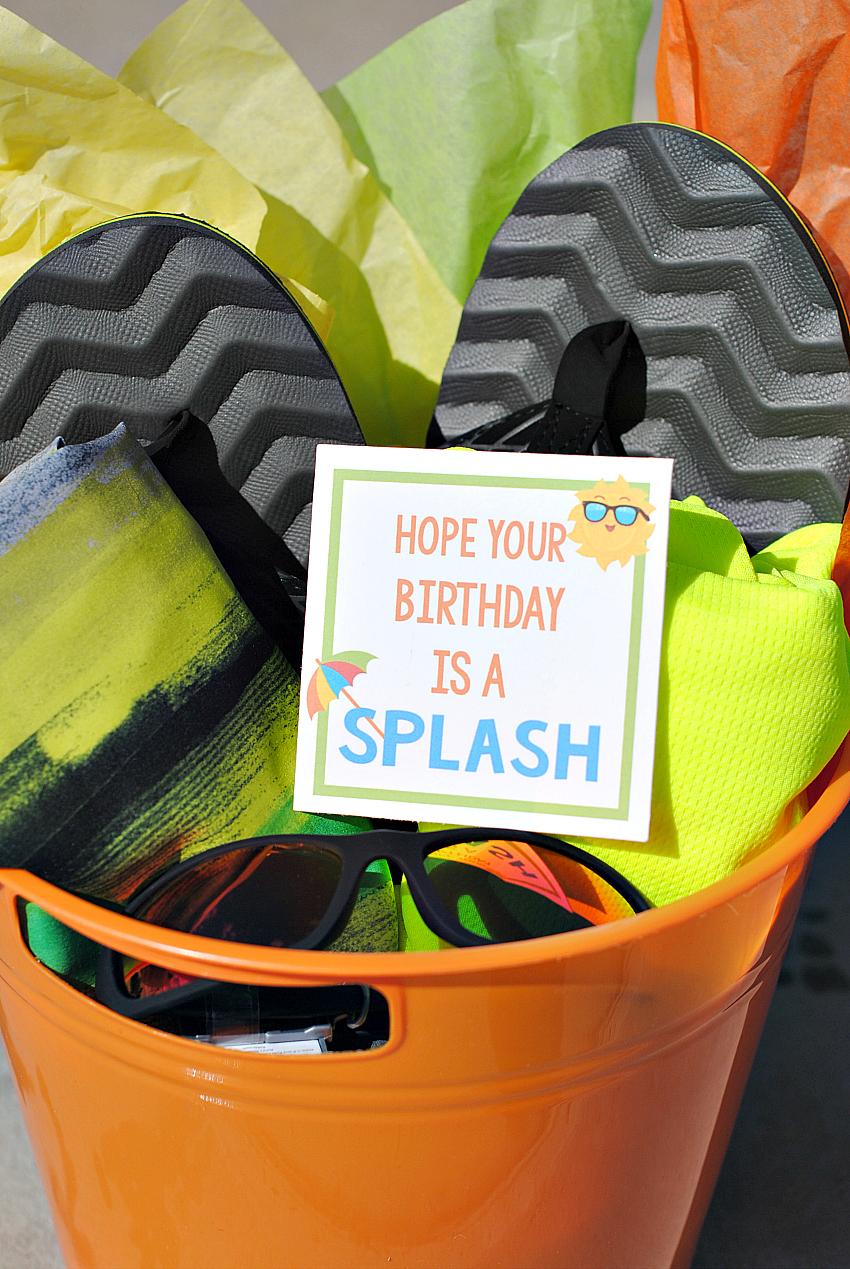 Fun Birthday Gift Idea for Summer