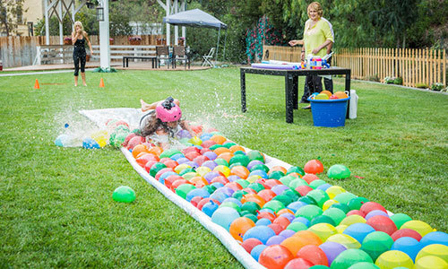 Waterballoonslide