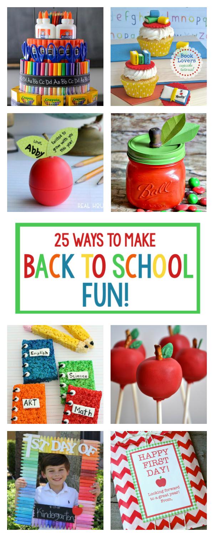 25 Ways to Make Back to School Fun