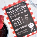 Summer BBQ Party Invitations & Printables
