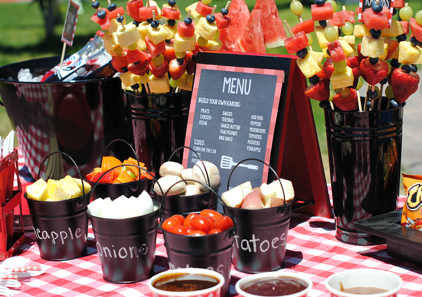 outdoor bbq ideas for a fun summer party fun squared