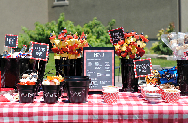 Outdoor bbq ideas for a fun summer party fun squared for What to serve at a bbq birthday party