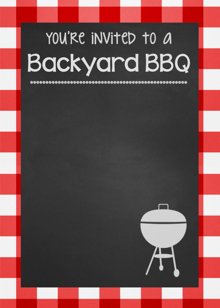 BackyardBBQInvitationBlank