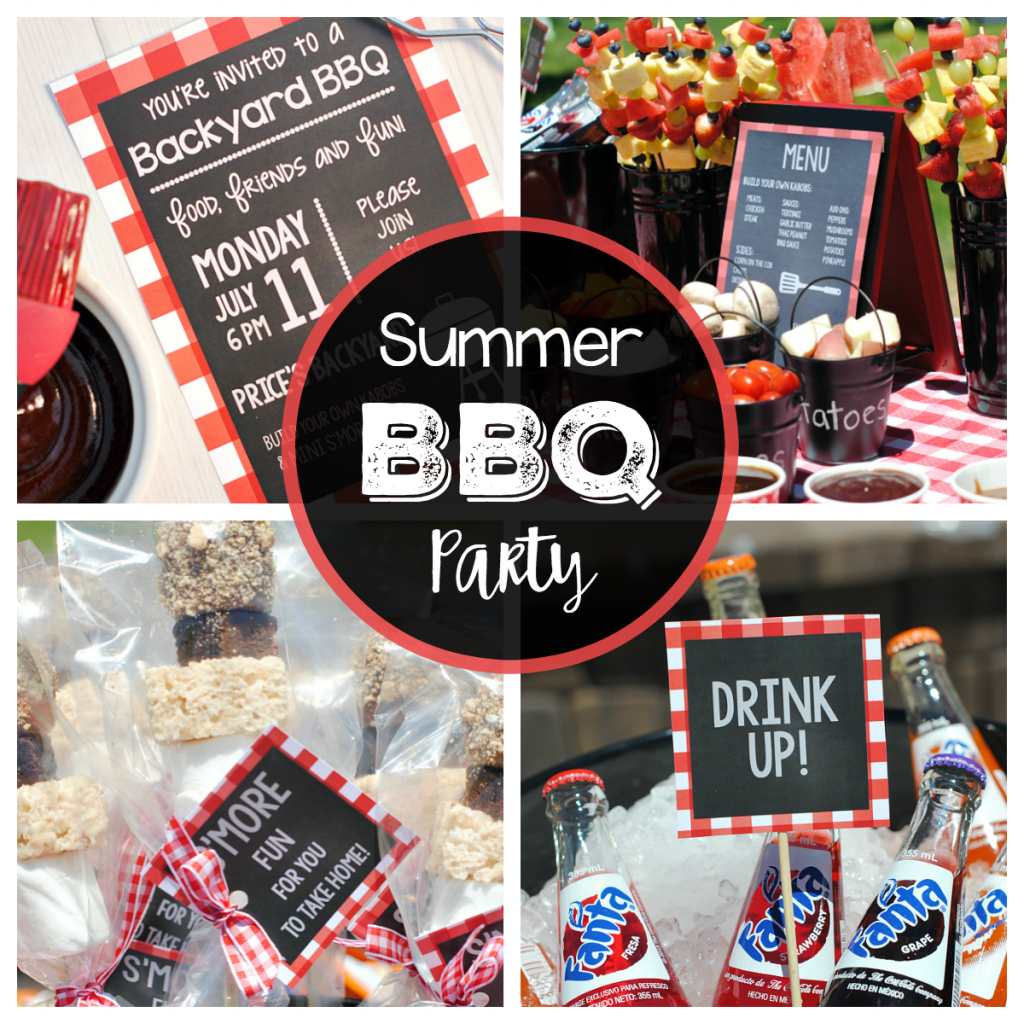 Outdoor Summer Birthday Party Ideas: Outdoor BBQ Ideas For A Fun Summer Party