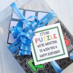 Rubik's Cube Birthday Gift Idea