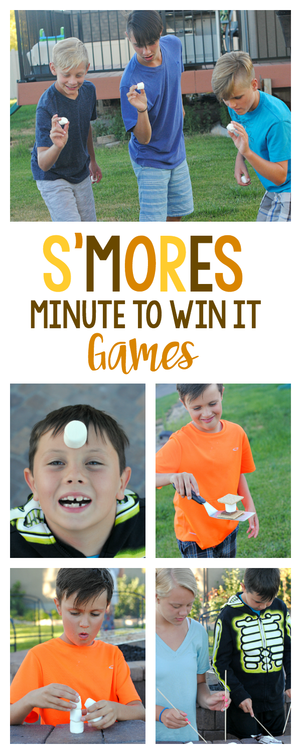 Summer Barbecue Party Game Ideas Smores Minute To Win It Games