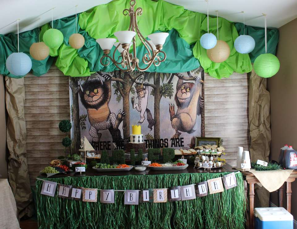 Where The Wild Things Are Party Decorations