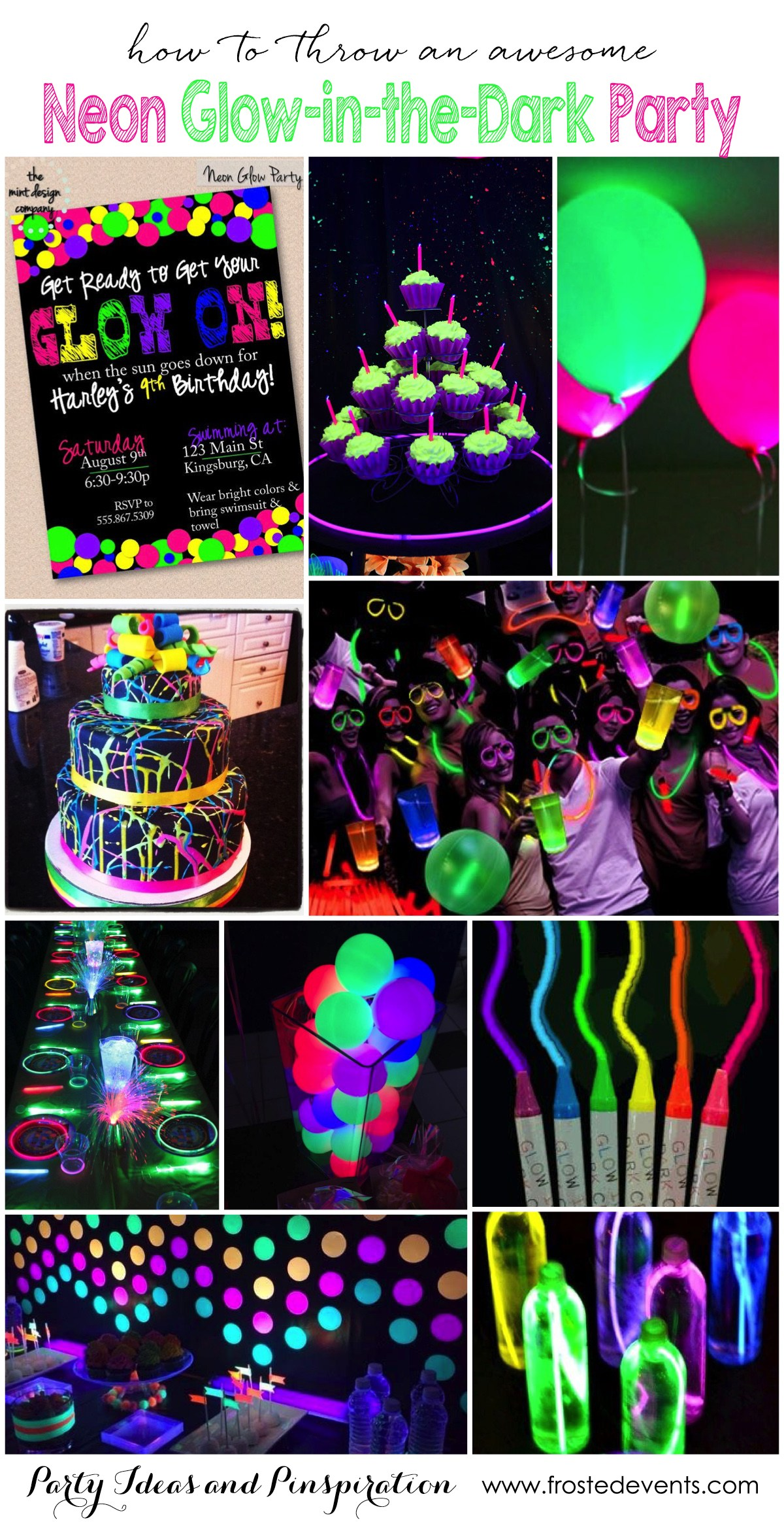The fun teen birthday party like this