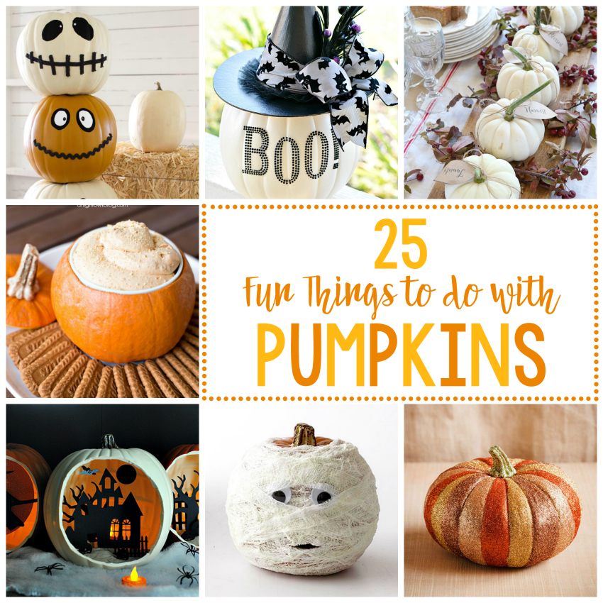 25 Fun Things To Do With Pumpkins