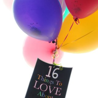 What I Love About You Balloon Birthday Gift Idea