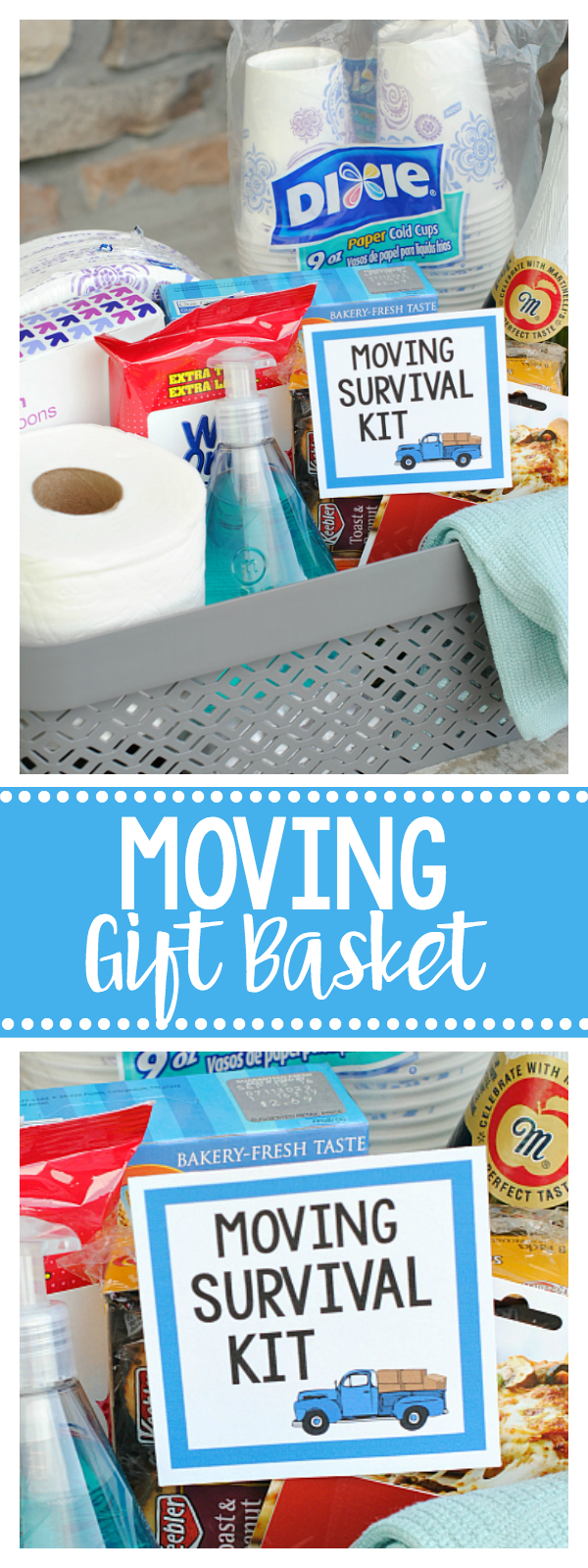 Moving Gift Basket