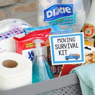 Fun & Useful Moving Gift Basket