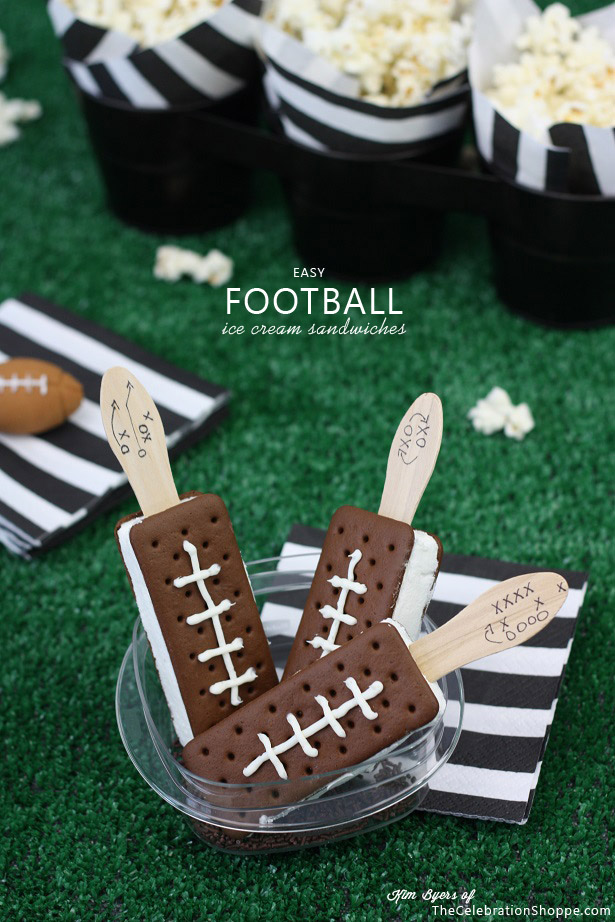 Cake Pops On Football Stadium