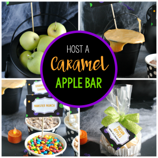 How to Put Together a Fun Caramel Apple Bar