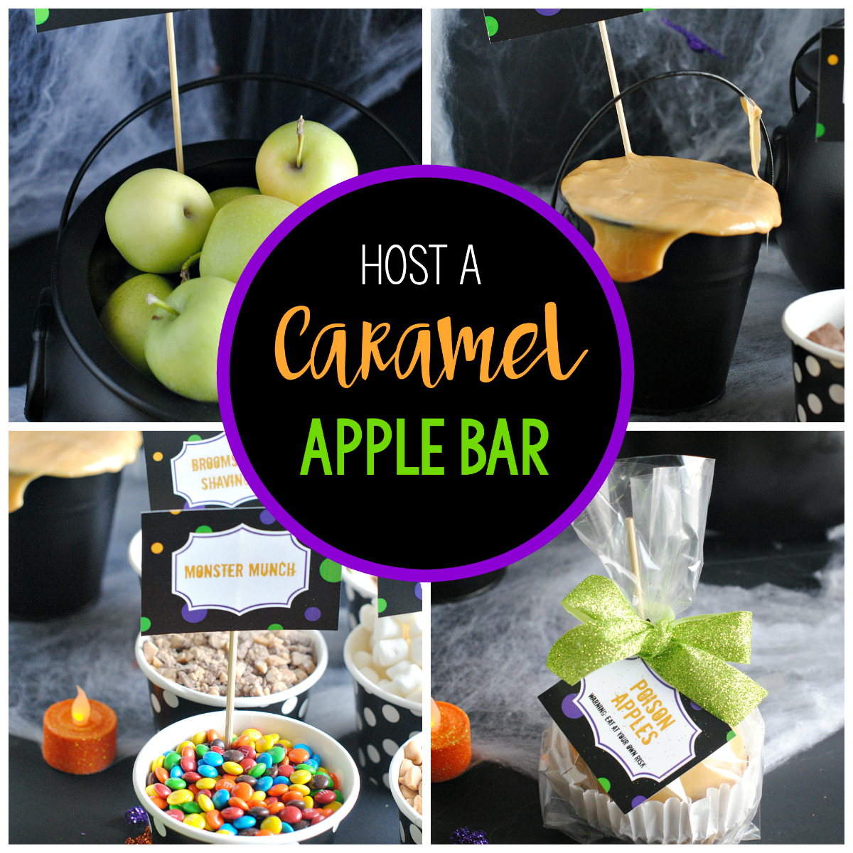 How to Host a Caramel Apple Bar