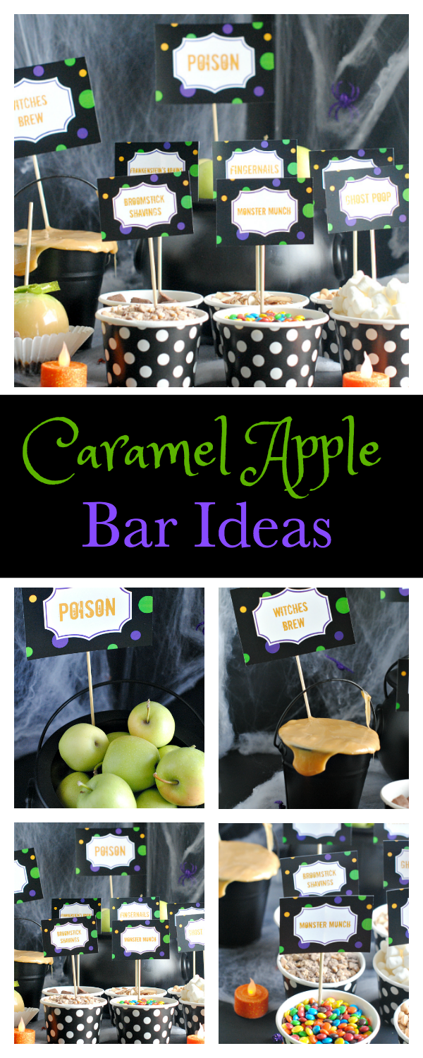 How to Host a Fun Caramel Apple Bar