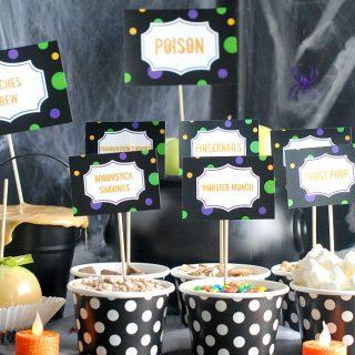 Caramel Apple Bar Party Ideas
