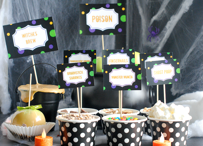 Caramel Apple Bar Party Ideas