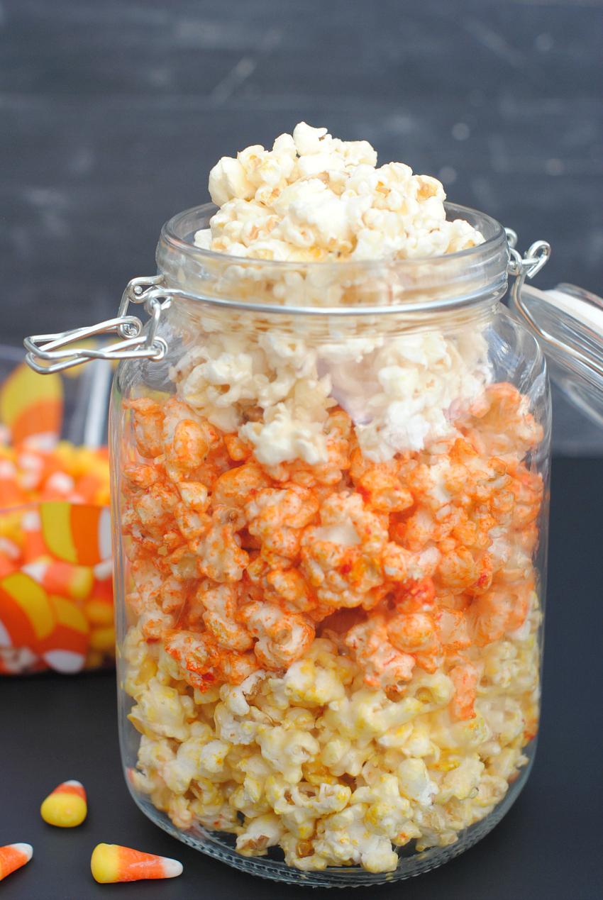 Halloween Popcorn Idea