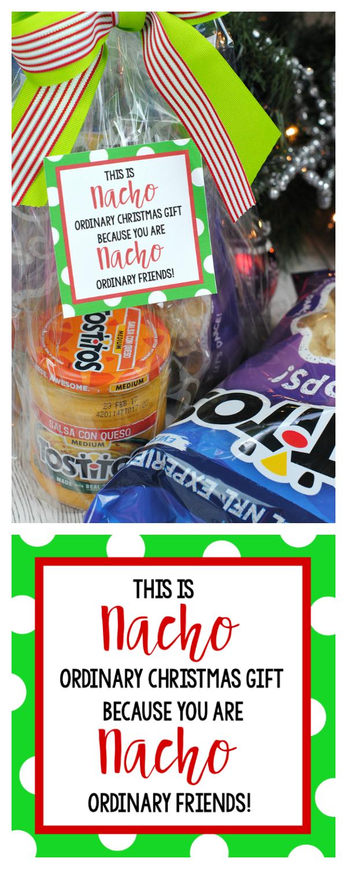 "Funny Christmas Gift Ideas for the Neighbors: ""Nacho"" Gift ..."