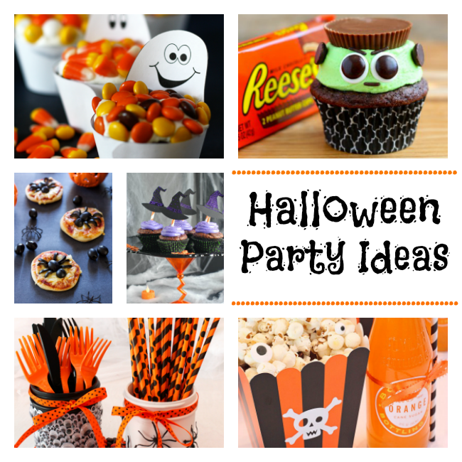 Halloween party roundup fun squared for How to have a great halloween party