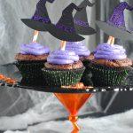 Halloween Cupcake Stand & Cupcakes