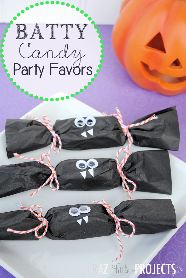 Bat Party Favors for Halloween Party