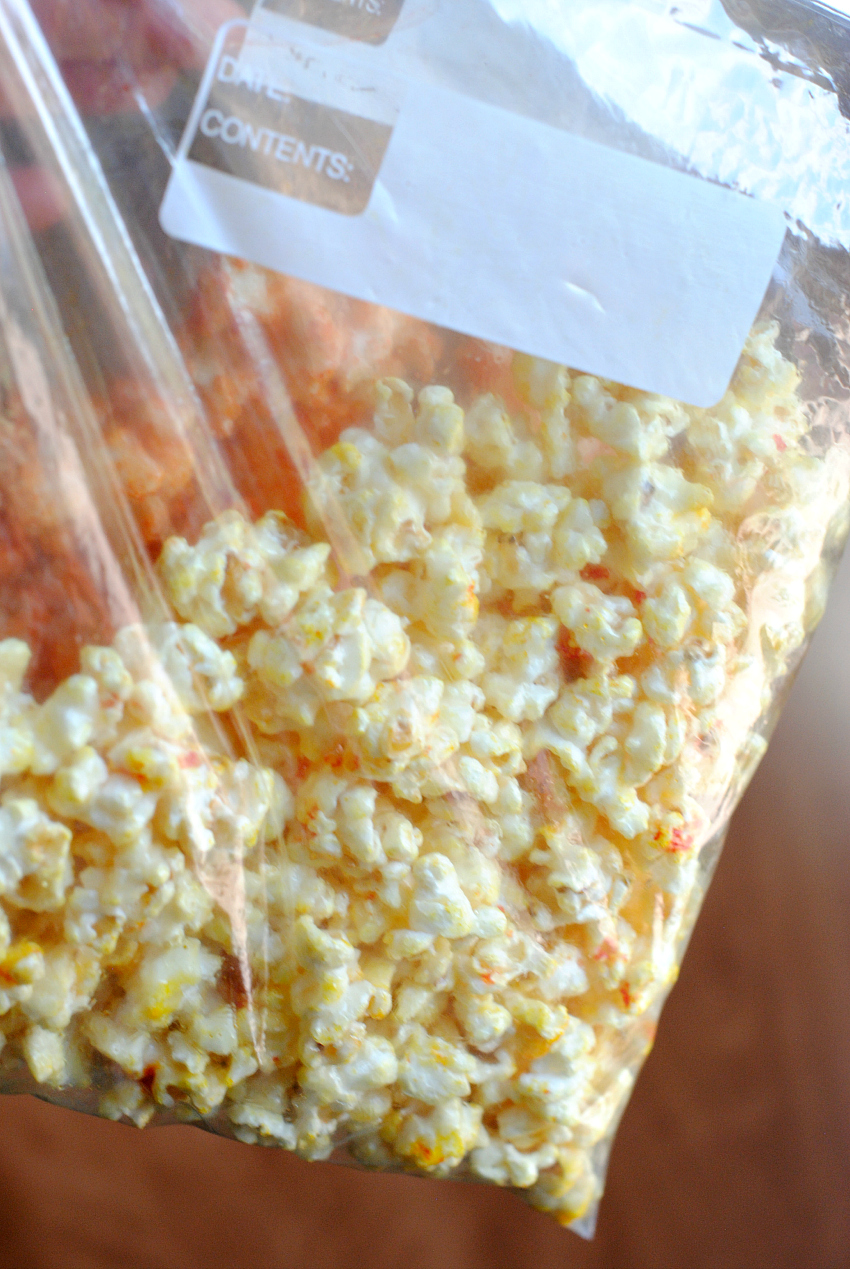 Halloween Caramel Corn Recipe